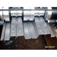 Automatic Hky-688 Floor Deck Cold Roll Forming Machine, Maquina Formadora De Rollos