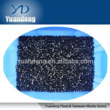 Espaciadores de plástico negro de nylon