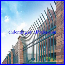 Nous offrons Green Palisade Fence Security Galvanized Safety Boundary Fence Gates & Pales for Export