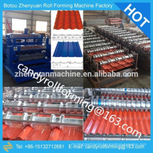 Sell/produce roll forming machine,double layer rolling line,steel sheet roller machine