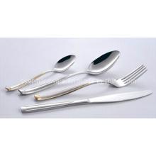 Vajilla de acero inoxidable vajilla cubiertos cuchillería establece (se010)