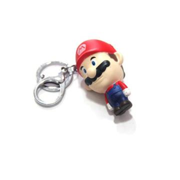 Kundenspezifischer PVC-Schlüsselring, niedliches Karikatur-Bild Keychain (GZHY-KA-059)