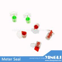 Selo de medidor de fio plástico com número de série (YL-M01)
