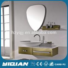 Hangzhou Factory Cheap SteelSteel Mirror Vanity pour salle de bain New Design SteelBathroom Vanity