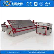 2000mm*6000mm UHP floor lading CNC large glass cutting water jet machine