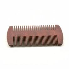 FQ marque peigne à barbe personnalisé étiquette privée bois de santal