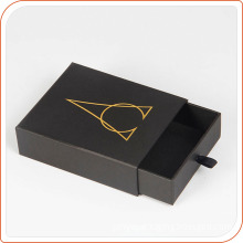 Black mini paper box packing bracelet empty drawer box