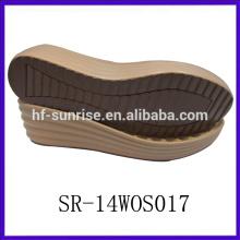 SR-14WOS017 pu outsole ladies pu sole pu sole manufacturers italian pu sole
