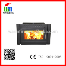 big power wood fireplace