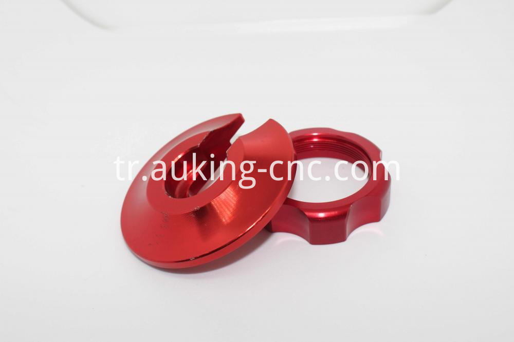 anodized shock preload ring