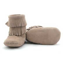 Quality Suede Leather Baby Winter Shoes Boots