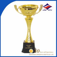 Trophée de trophée en métal personnalisé à Shenzhen