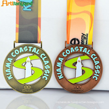 Neueste Design Sport Medaille Mit Beschichtung