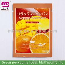 Sac en plastique de parfum de mangue mandarin japonais
