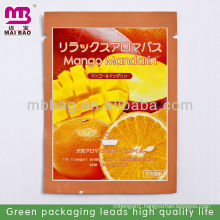 Mango Mandarin Japanese perfume plastic bag