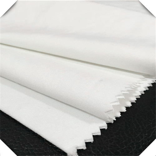 twill white tc fabric