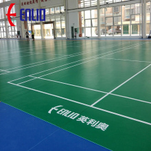 Enlio Badminton Court PVC Sports Alfombras de suelo