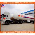 Heavy Duty 3 Axles LPG Gas Tanker Semi Trailer 25mt for Sale