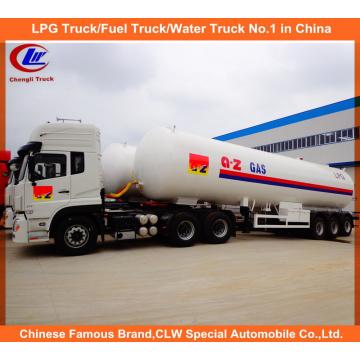 Heavy Duty 3 Achsen LPG Gas Tanker Semi Trailer 25mt zum Verkauf