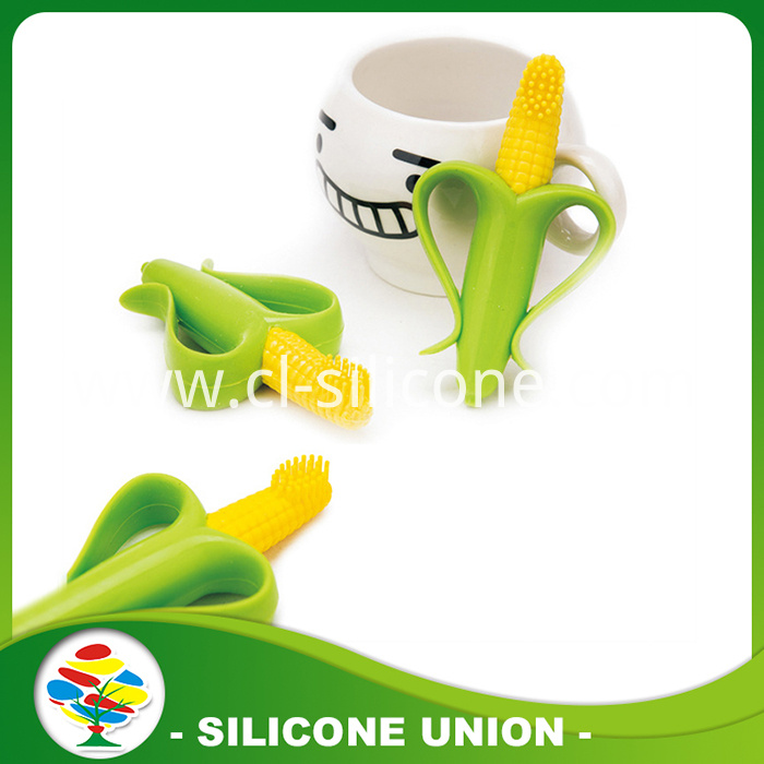 silicone corn teether