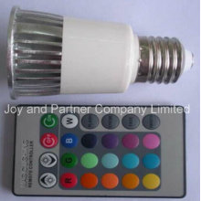 5W color RGB que cambia el bulbo del LED E27 con la función de la memoria (E275WMCL)