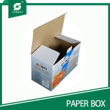 Flat Fold Easy Assembled Corrugated Paper Packaging Box