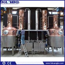 Équipement de distillation de l'alcool adapté aux besoins du client, équipement de distillation