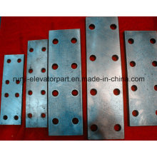 Black Elevator Guide Rail Fishplate