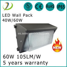 Paquete de pared LED de alta luminosidad 120W