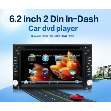 6.2inch 2 DIN in-Dash Car DVD Player