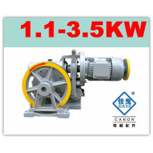 YJF100K Single Speed Elevator Motor Geared Traction Machine/components/parts