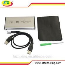Boîtier externe de disque dur SATA 2.5 SATA, boîtier USB HDD