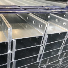 Galvanized Steel H Beam Foundation Pile for Solar Bracket