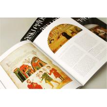 Impression de livre à couverture rigide adaptée aux besoins du client professionnelle de quatre couleurs