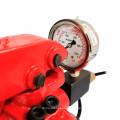 Placa de calentamiento doble HP3809-R Prensa hidráulica de resina de 20 toneladas