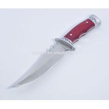 Couteau de chasse tactique avec lame en acier inoxydable