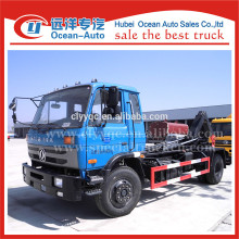 DongFeng 4x2 garbage truck with detachable container