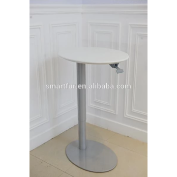 iron metal gas lift adjustable table base