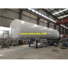 Remorques de réservoir de propane usagé 25MT 3 essieux