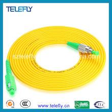 Cable de conexión de fibra óptica FC / APC-Sc / APC