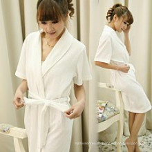 Bademantel der Baumwoll100% für Hotel-Roben mit billigem Preis