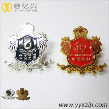 high quality enamel custom zinc alloy badge pin