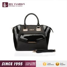 Bolsa estilo bolsa de couro de gênero e mulheres