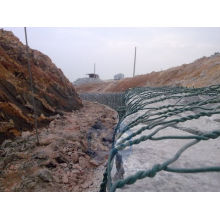Heavy Galvanized Pvc Coated Gabion Woven, Wire Mesh Gabion Basket For Seaport Project