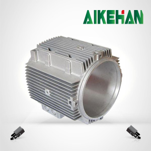 die cast aluminum electric motor cover with sand blasting