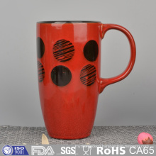 Cheap Price Colorful Glazed Ceramic Mugs