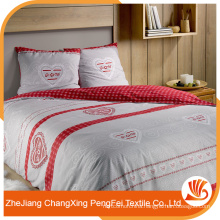 China supply latest designs bed sheet cover fabric for European market