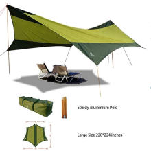 Outdoor sunshade camping shelter tent tarp for beach and hiking traveling use sunshade  canopy