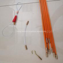 Haste contínua flexível de fibra de vidro do cabo 10m