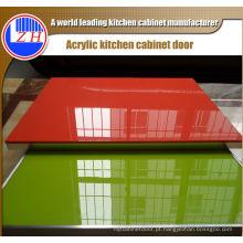 Portas de acrílico de luxo do armário de cozinha (personalizadas)